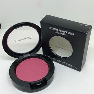 Mac sheerstone shimmer blush dollymix